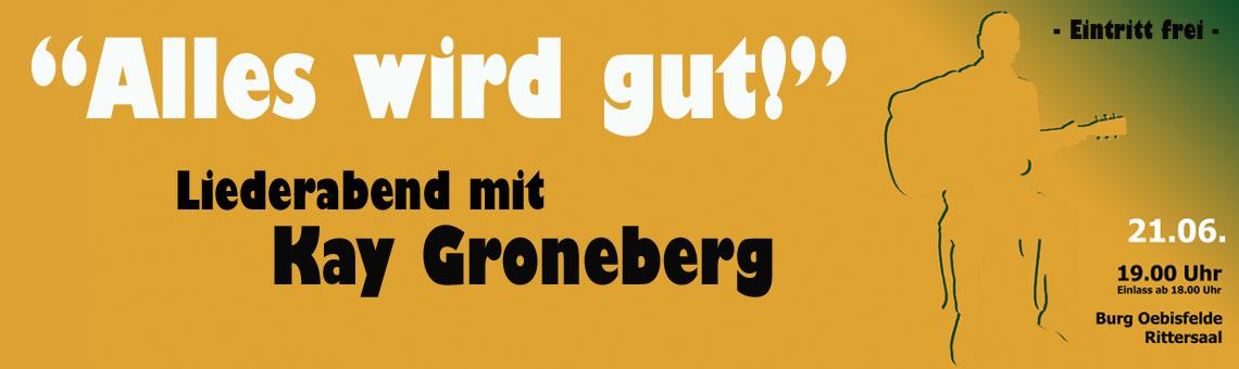 Liederabend mit Kay Groneberg