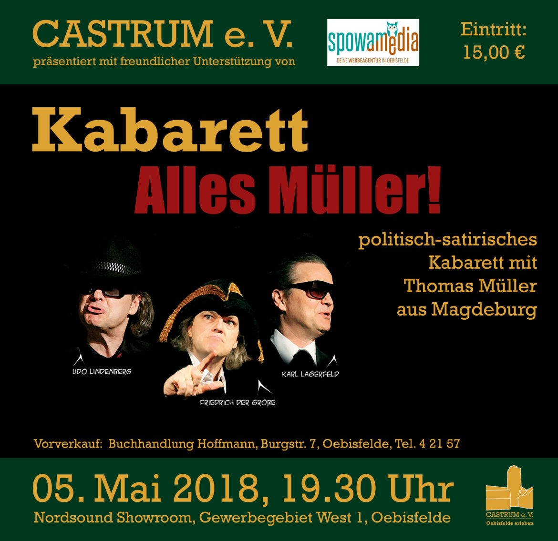 Kabarett Alles Müller Am 050518